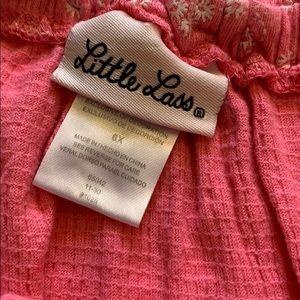 Little Lass Matching Sets - Little Lass 2 pc short set